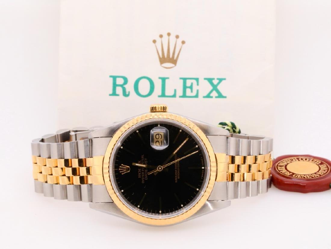 Rolex 1993 Datejust 18K & Stainless Steel Watch