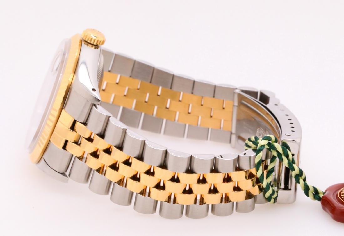 Rolex 1993 Datejust 18K & Stainless Steel Watch - 3