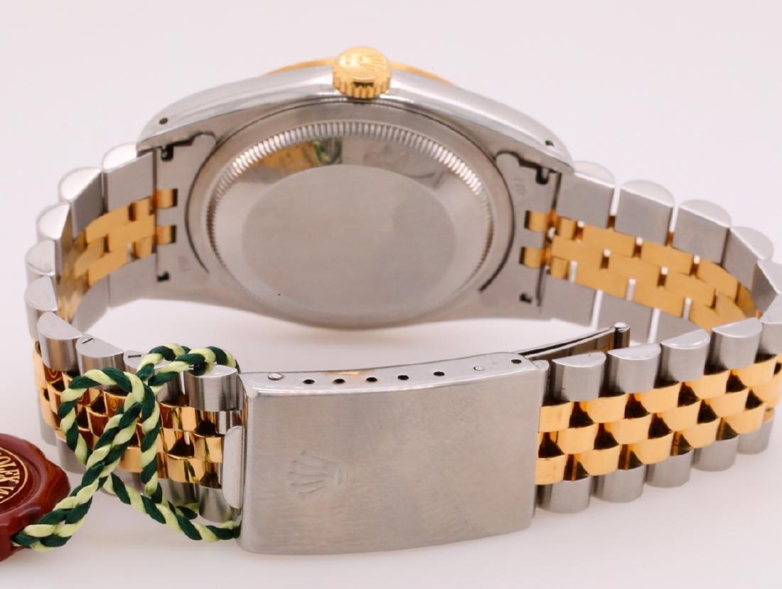 Rolex 1993 Datejust 18K & Stainless Steel Watch - 5