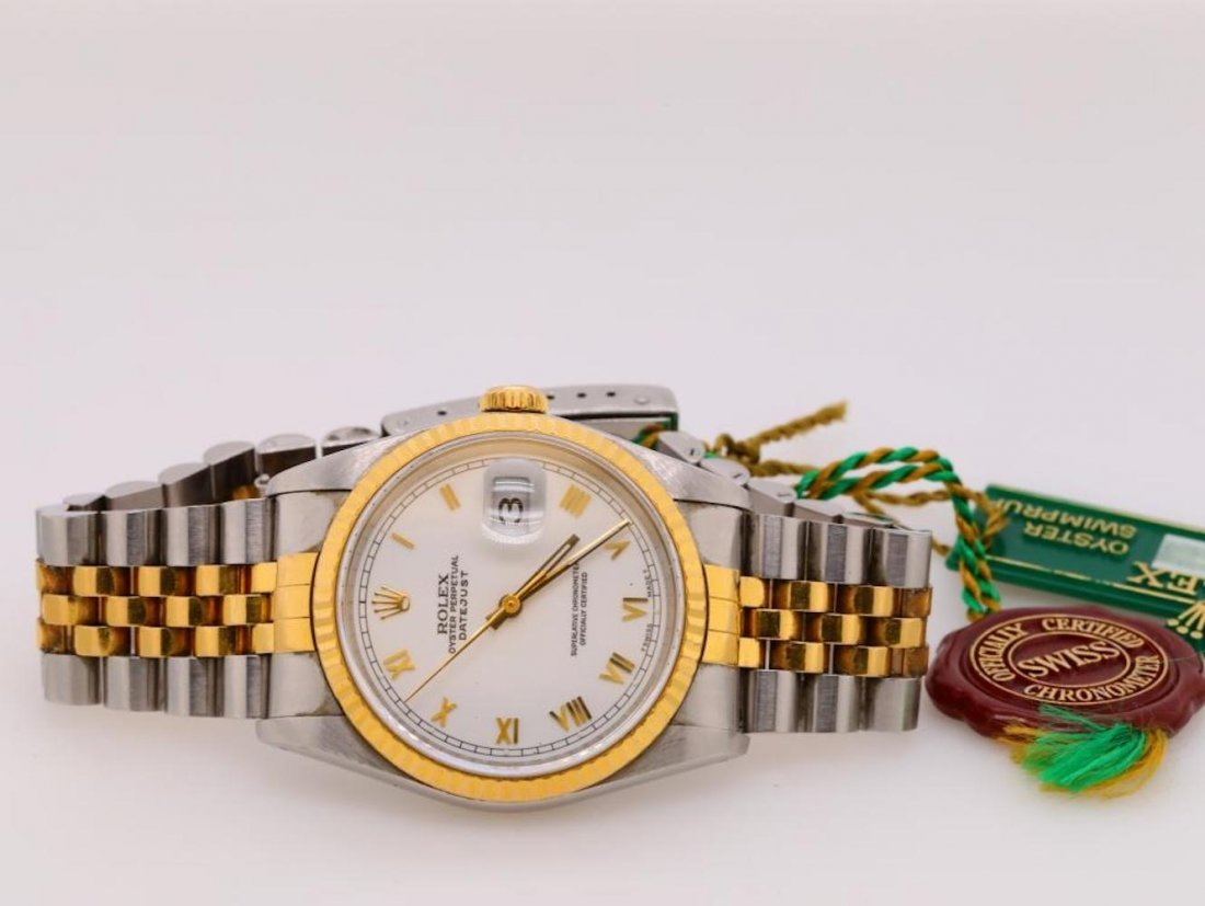 Rolex 1989 Datejust 18K & Stainless Steel Watch - 2