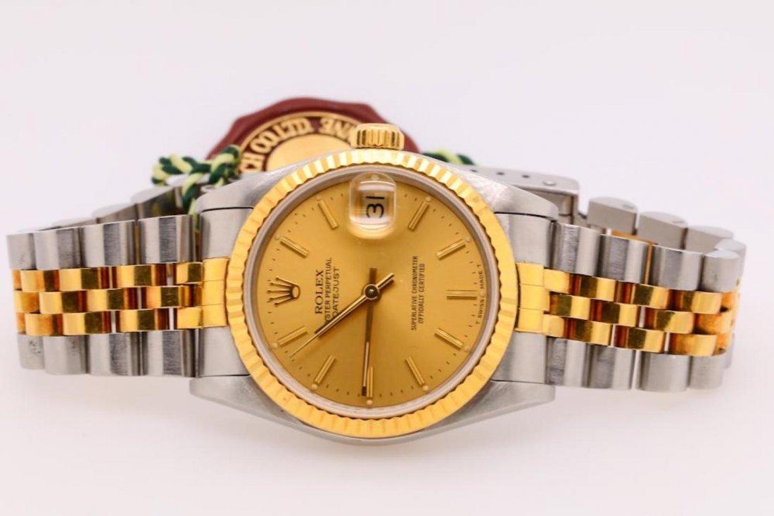 Rolex 1993 Datejust 18K & Stainless Steel Watch - 2