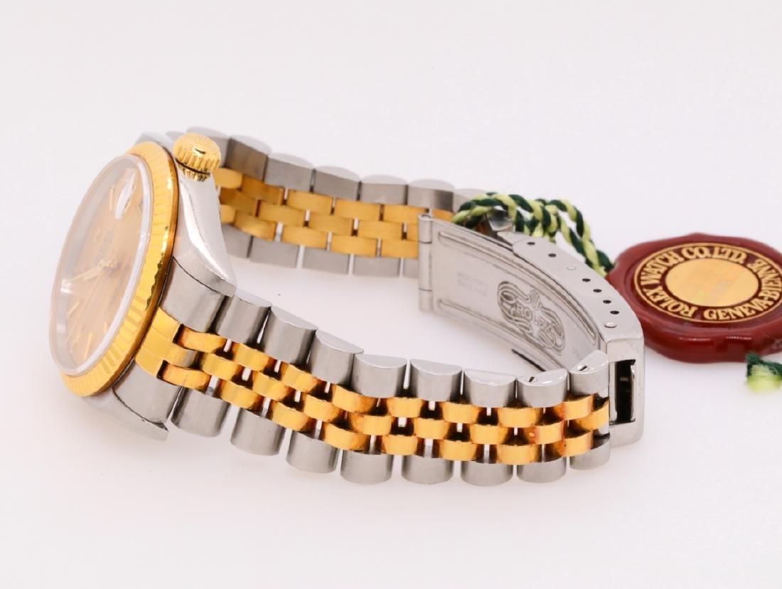 Rolex 1993 Datejust 18K & Stainless Steel Watch - 4