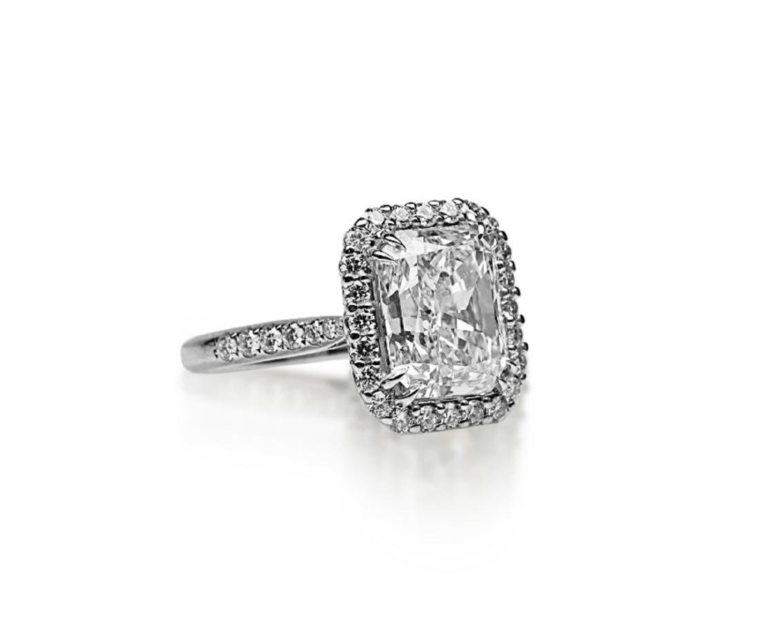 5ct GIA VS1/E Diamond, 0.80ctw Diamond 18K Ring - 3