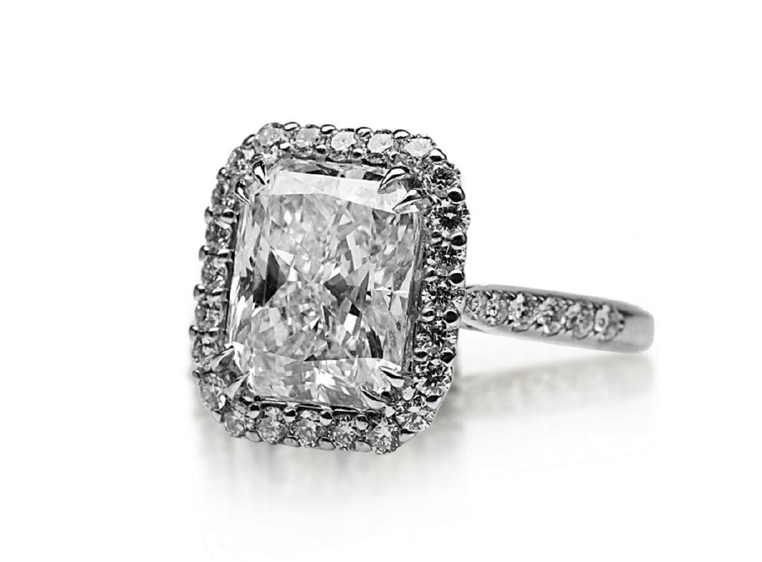 5ct GIA VS1/E Diamond, 0.80ctw Diamond 18K Ring - 5
