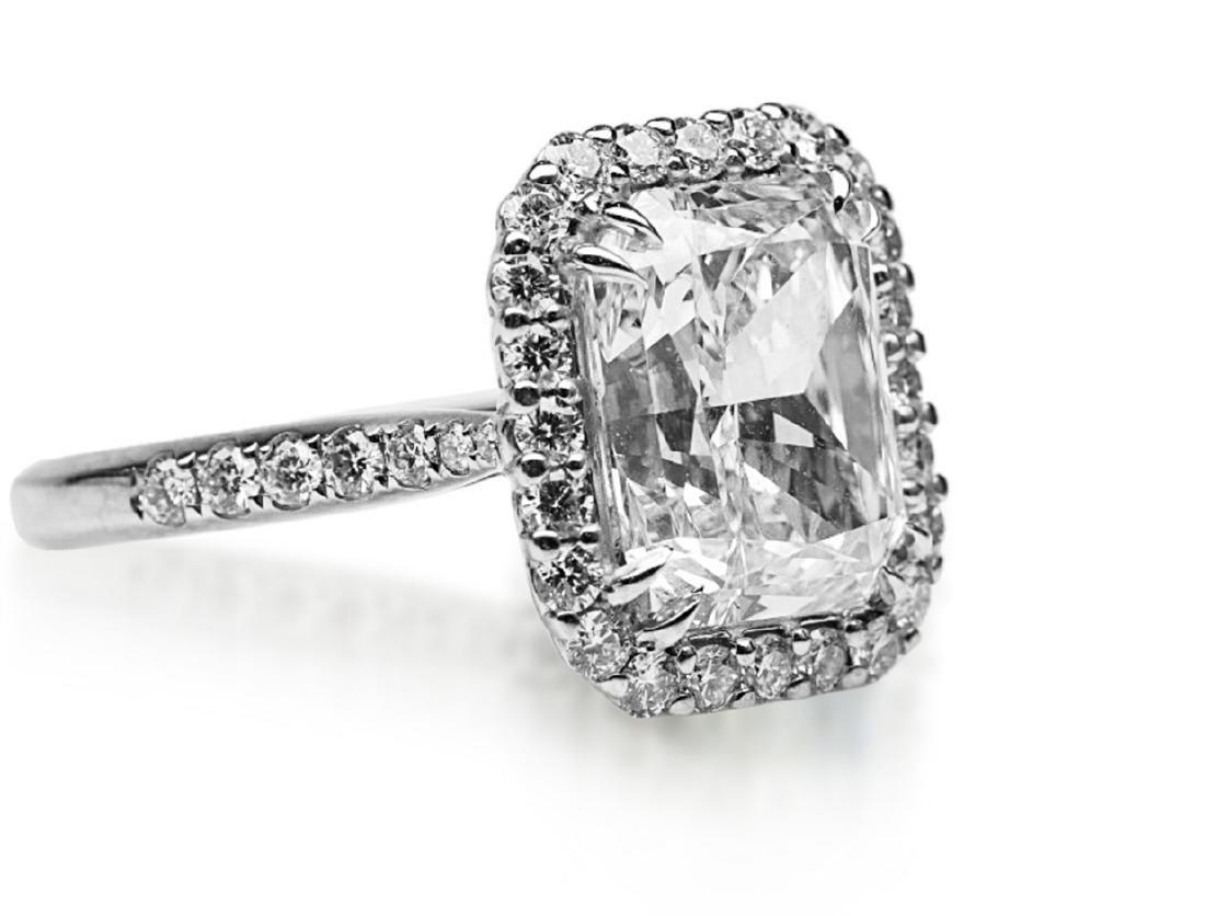5ct GIA VS1/E Diamond, 0.80ctw Diamond 18K Ring - 6