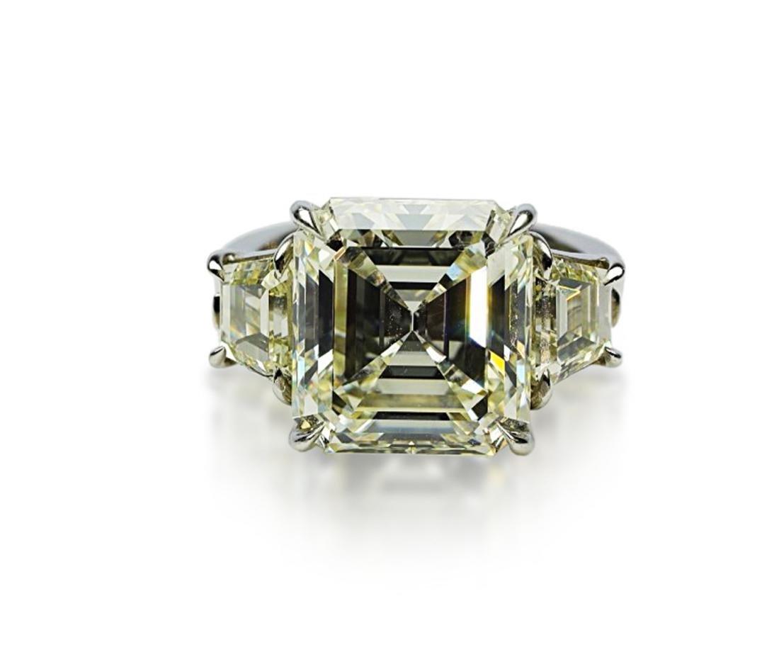 8.60ct GIA VVS2/K Diamond in Platinum Setting - 2