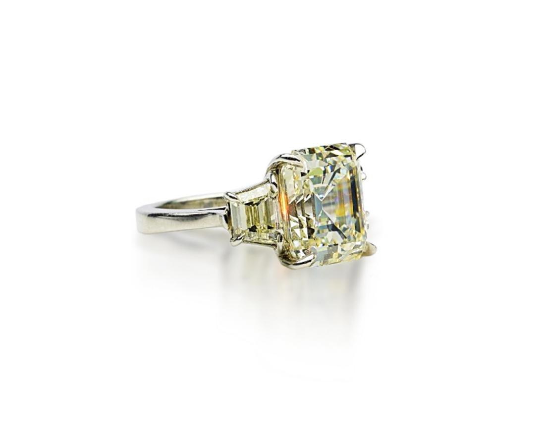 8.60ct GIA VVS2/K Diamond in Platinum Setting - 4
