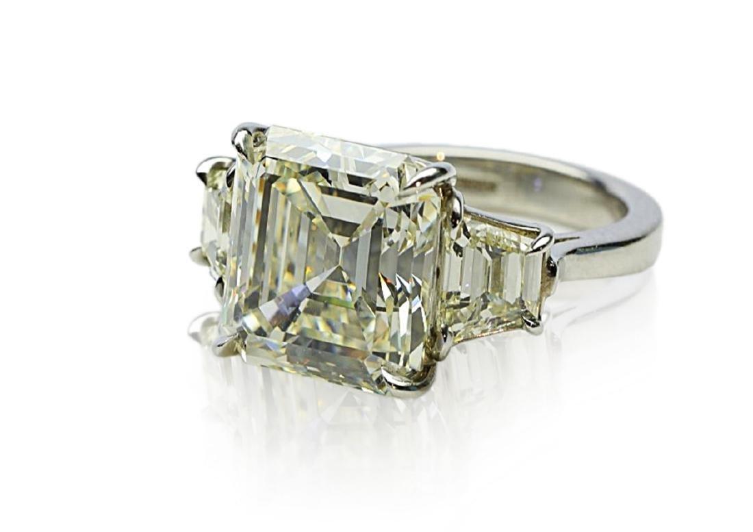 8.60ct GIA VVS2/K Diamond in Platinum Setting - 7
