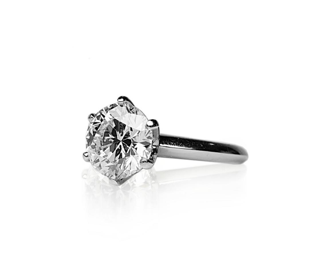 4.26ct GIA VVS2/E Diamond in Tiffany & Co. Ring - 2