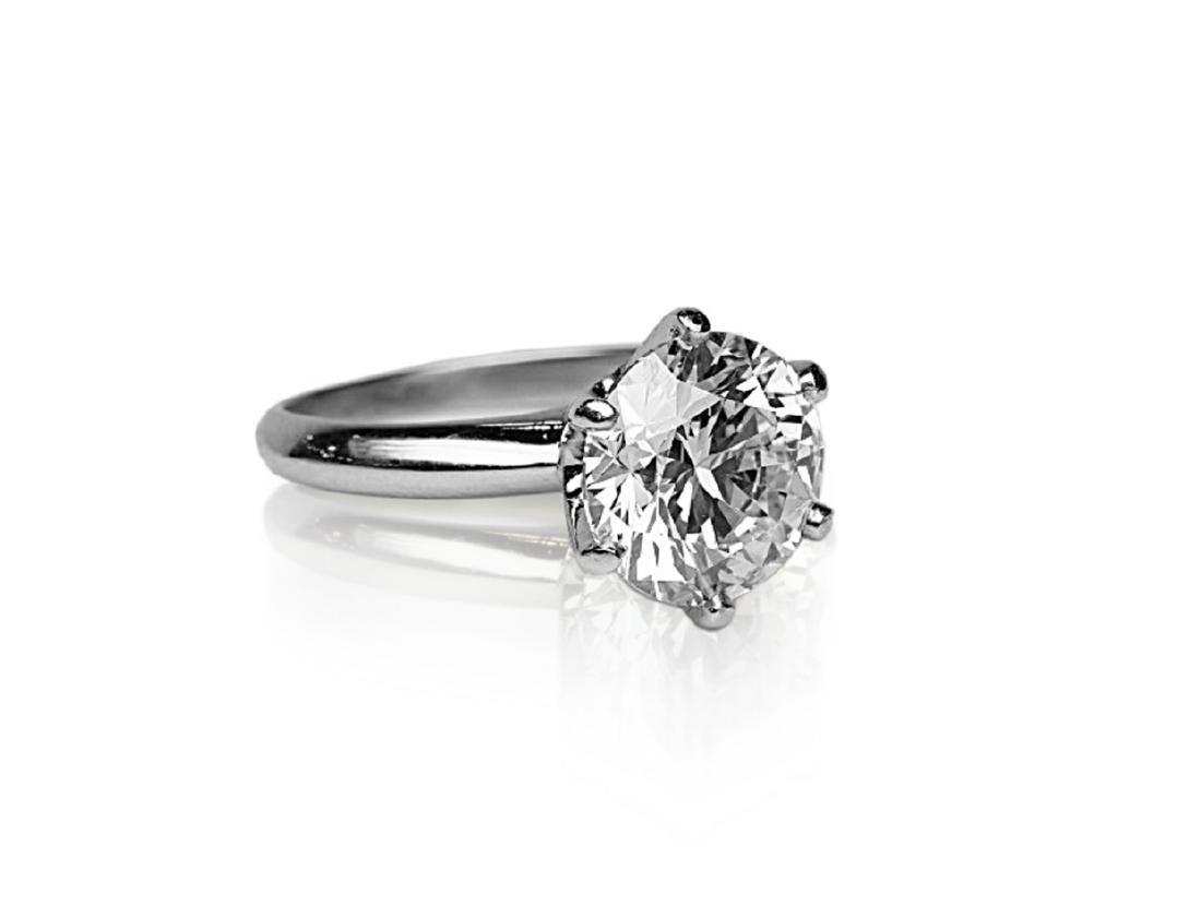 4.26ct GIA VVS2/E Diamond in Tiffany & Co. Ring - 3