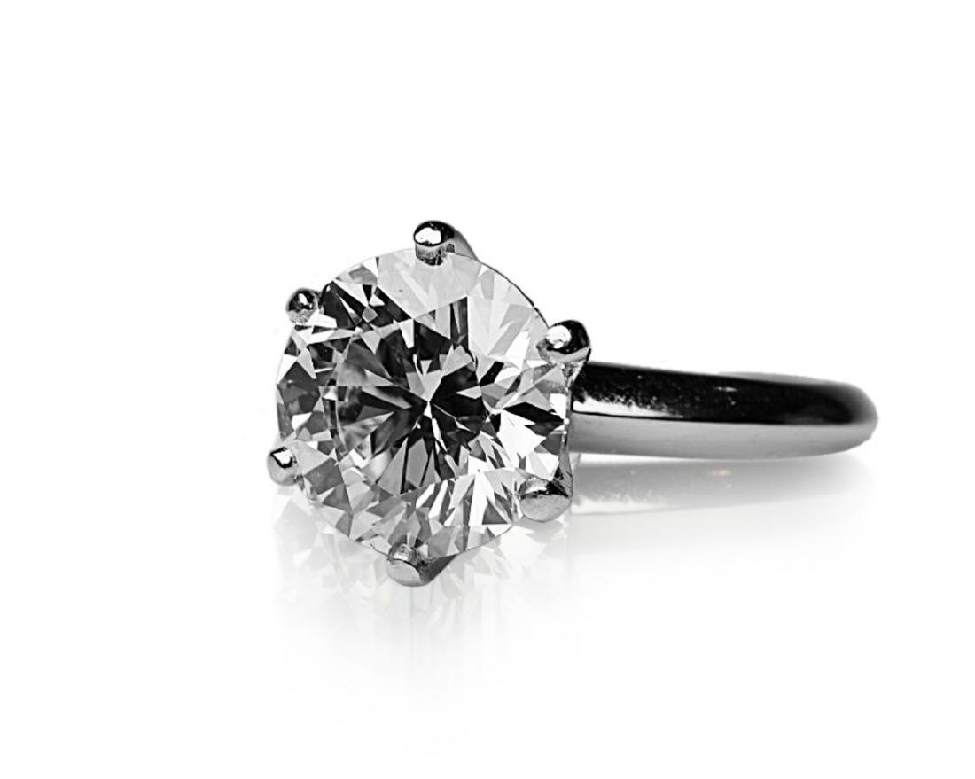 4.26ct GIA VVS2/E Diamond in Tiffany & Co. Ring - 5
