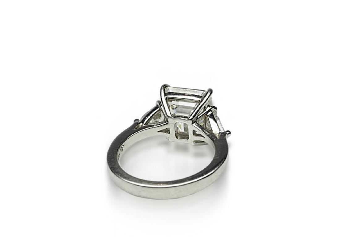 4.34ct GIA VVS1/F Diamond in Platinum Ring - 7