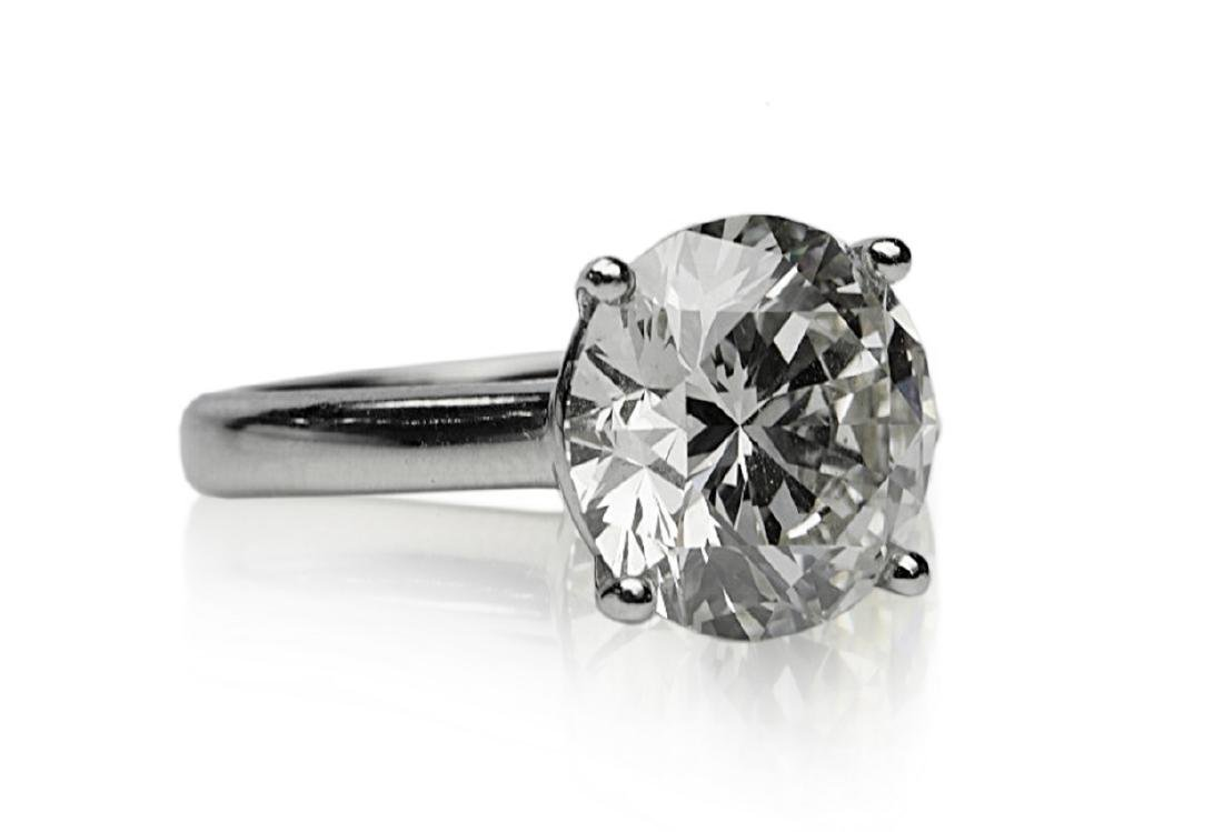 6.11ct GIA SI1/K Diamond in Platinum Band - 6