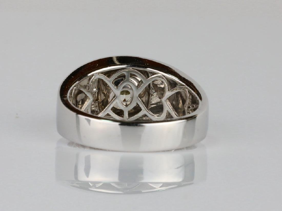 2.01ct Yellow Diamond 18K Men's Ring W/IGL Report - 5