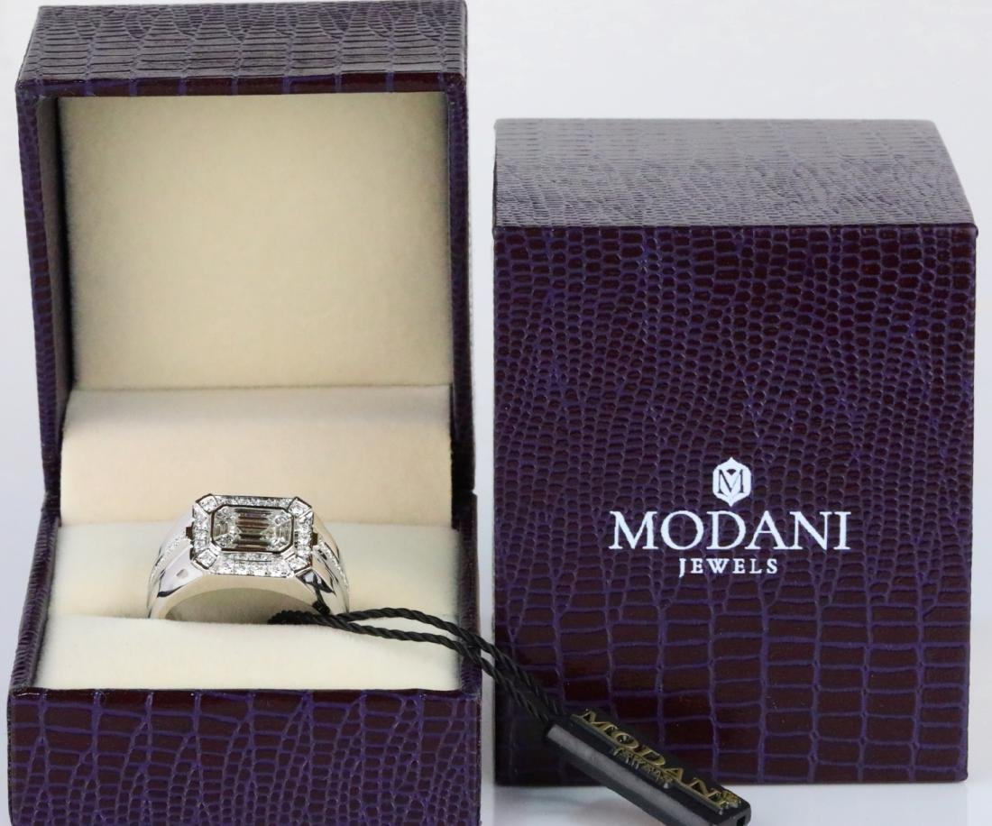 Modani 2.65ctw VS2-SI1/G-H Diamond & 18K Ring