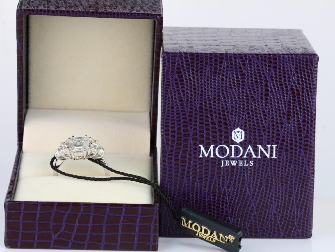 Modani 2.60ctw VS2-SI1/G-H Diamond & 18K Ring