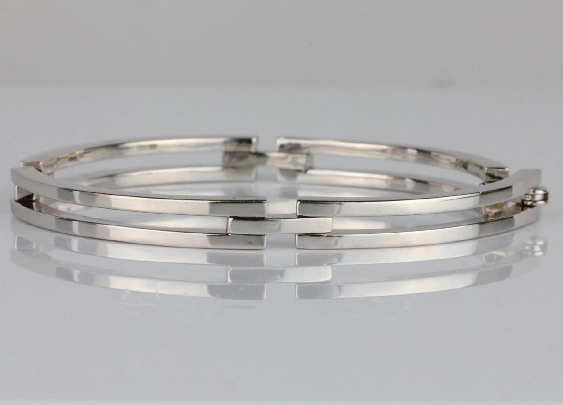 2ctw SI1-SI2/G-H Diamond & 14K 6mm Wide Bracelet - 4