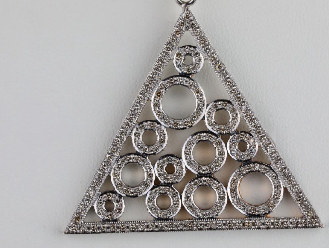 "2.50ctw SI1-SI2/G-H Diamond & 14K 18"" Necklace - 2"