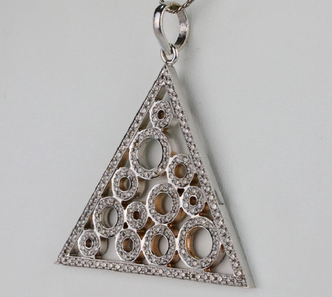 "2.50ctw SI1-SI2/G-H Diamond & 14K 18"" Necklace - 3"
