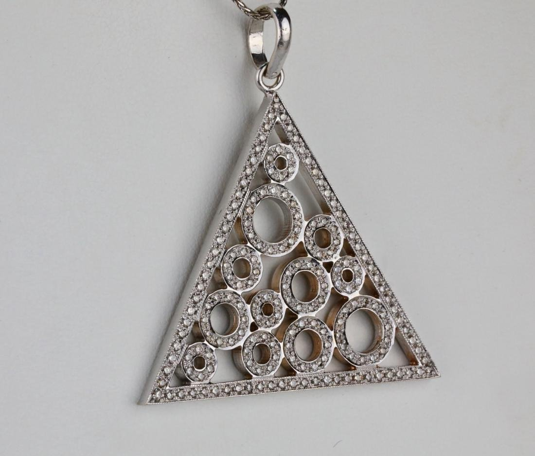 "2.50ctw SI1-SI2/G-H Diamond & 14K 18"" Necklace - 4"