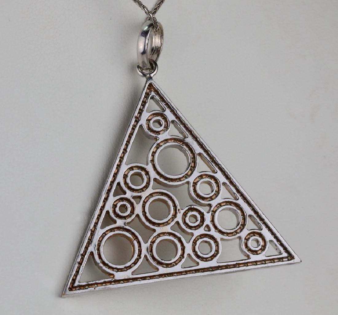 "2.50ctw SI1-SI2/G-H Diamond & 14K 18"" Necklace - 5"
