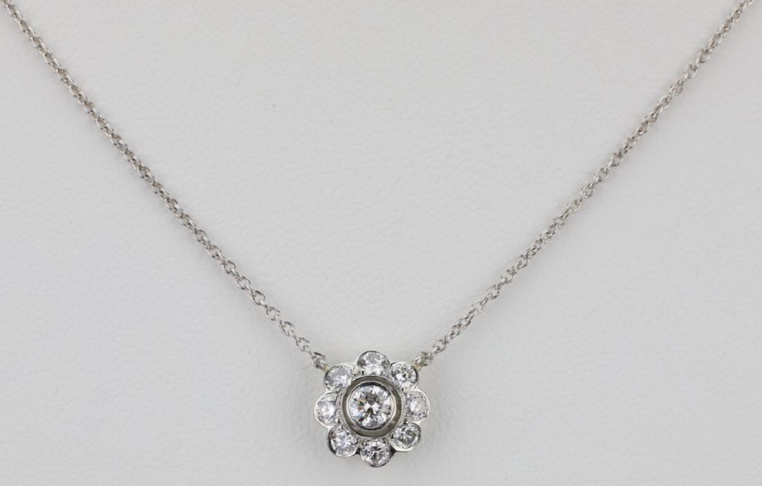 "1ctw VS1-VS2/G-H Diamond & Platinum 16"" Necklace"