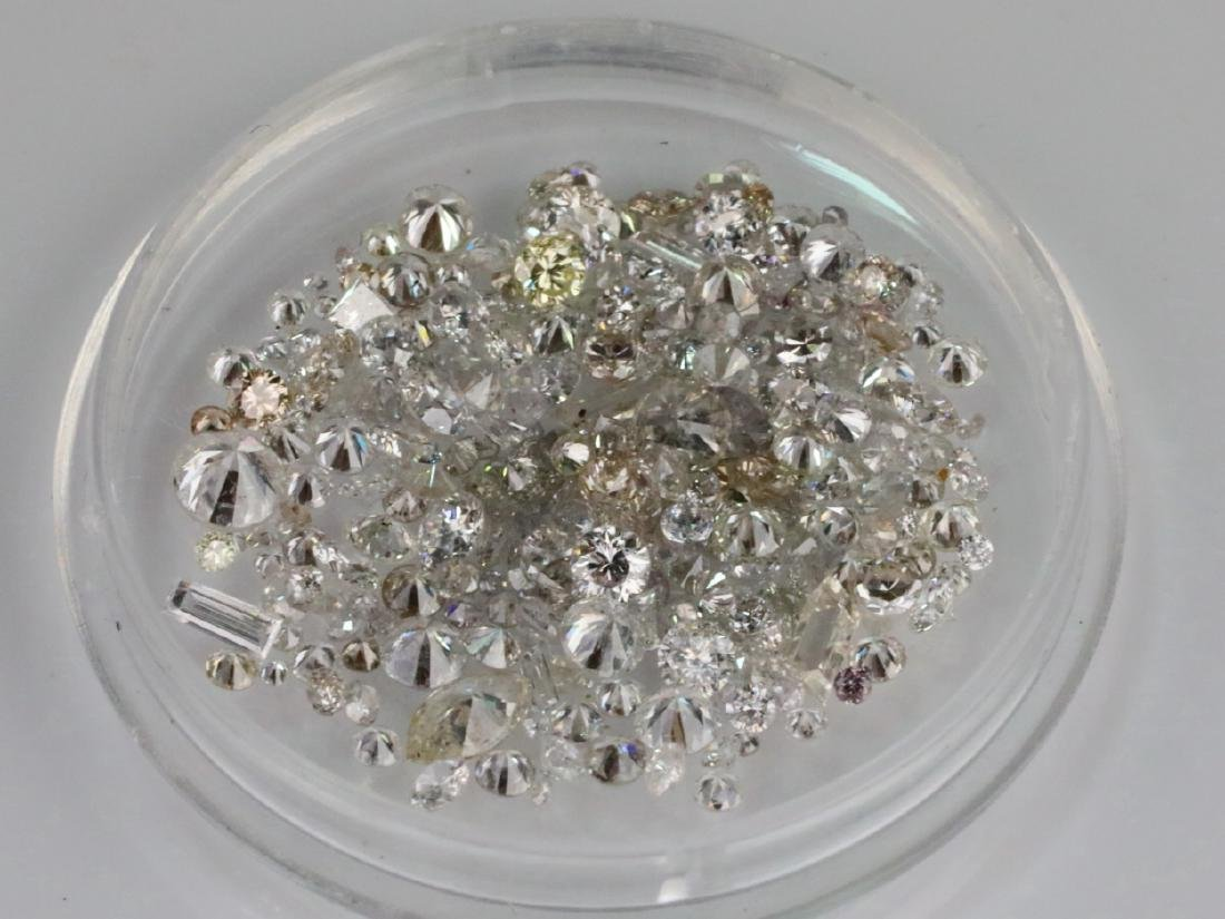 5.66ctw Unsearched Loose Diamonds in Capsule