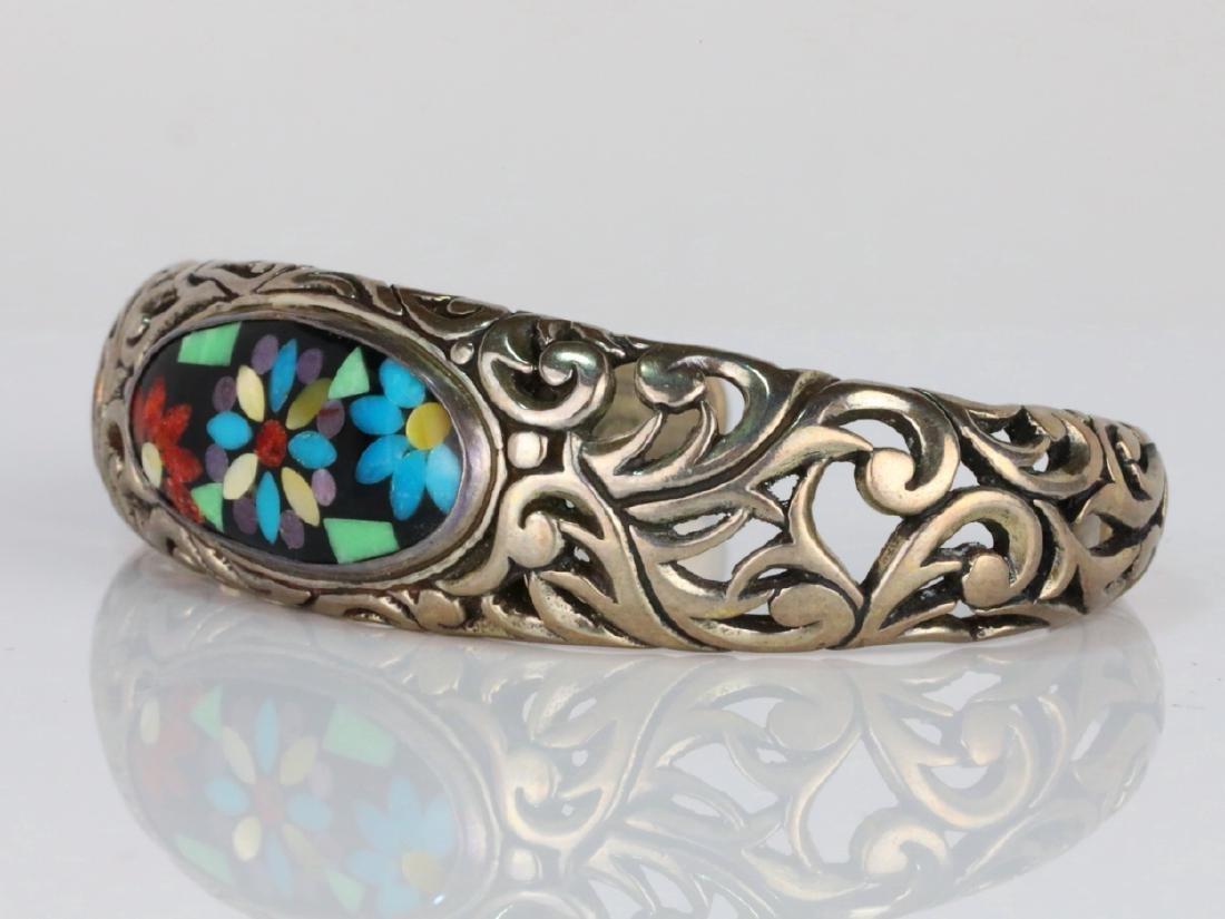 Carolyn Pollack for Relios Sterling Silver Bracelet - 2