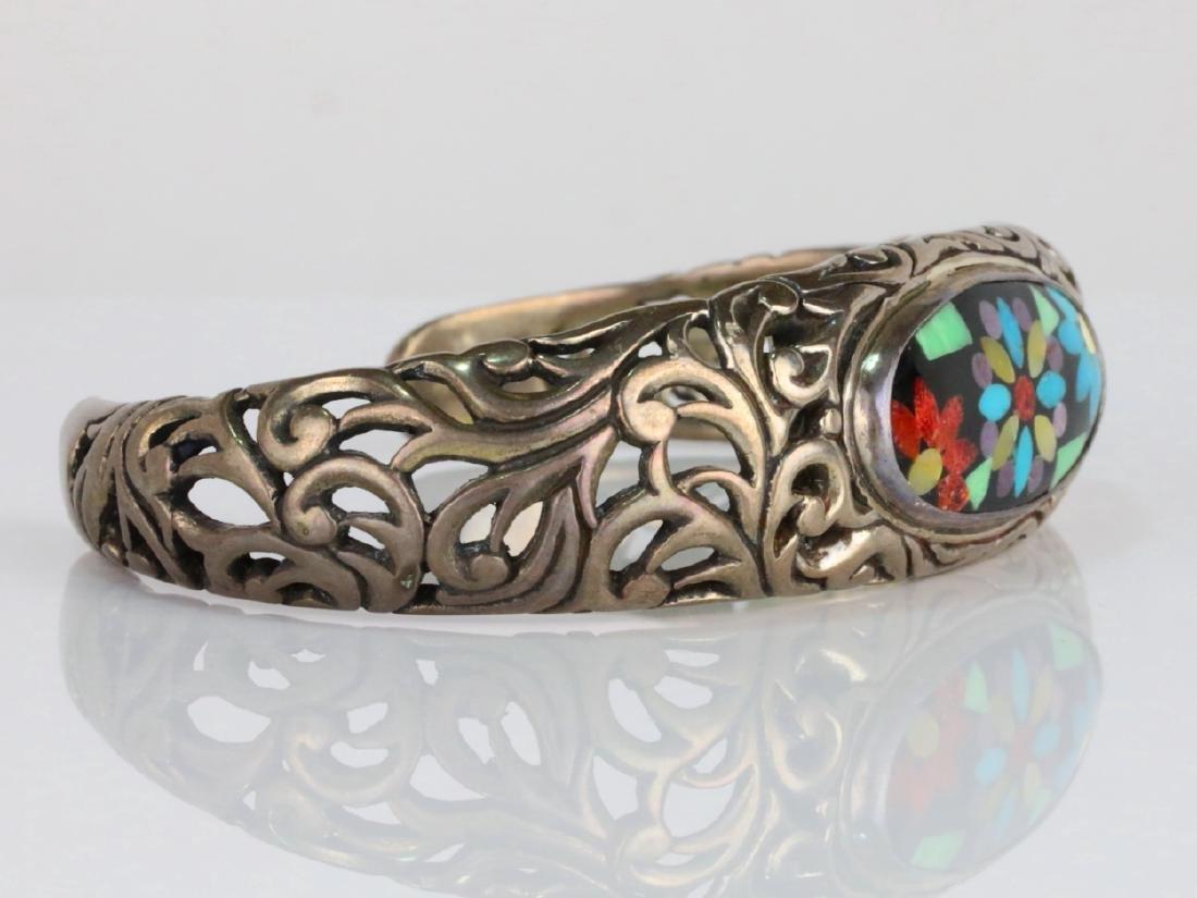 Carolyn Pollack for Relios Sterling Silver Bracelet - 3