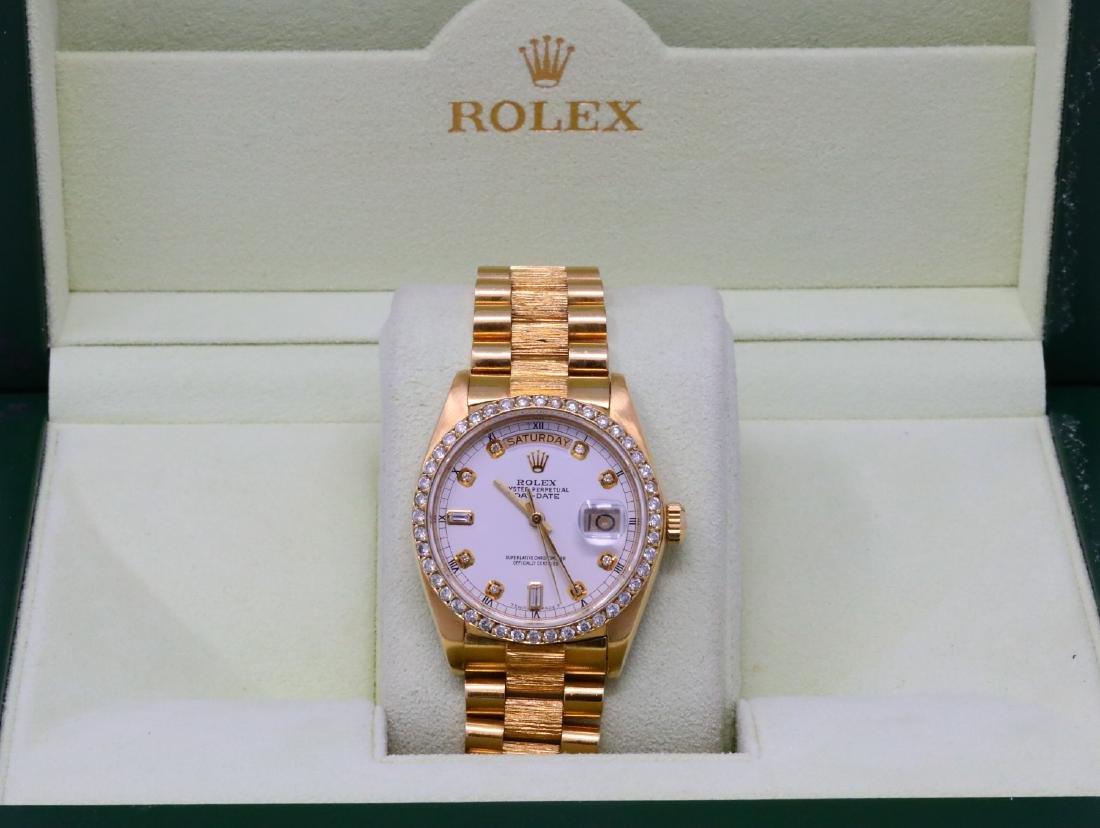Rolex Presidential Day-Date Vintage 18K 36mm Watch