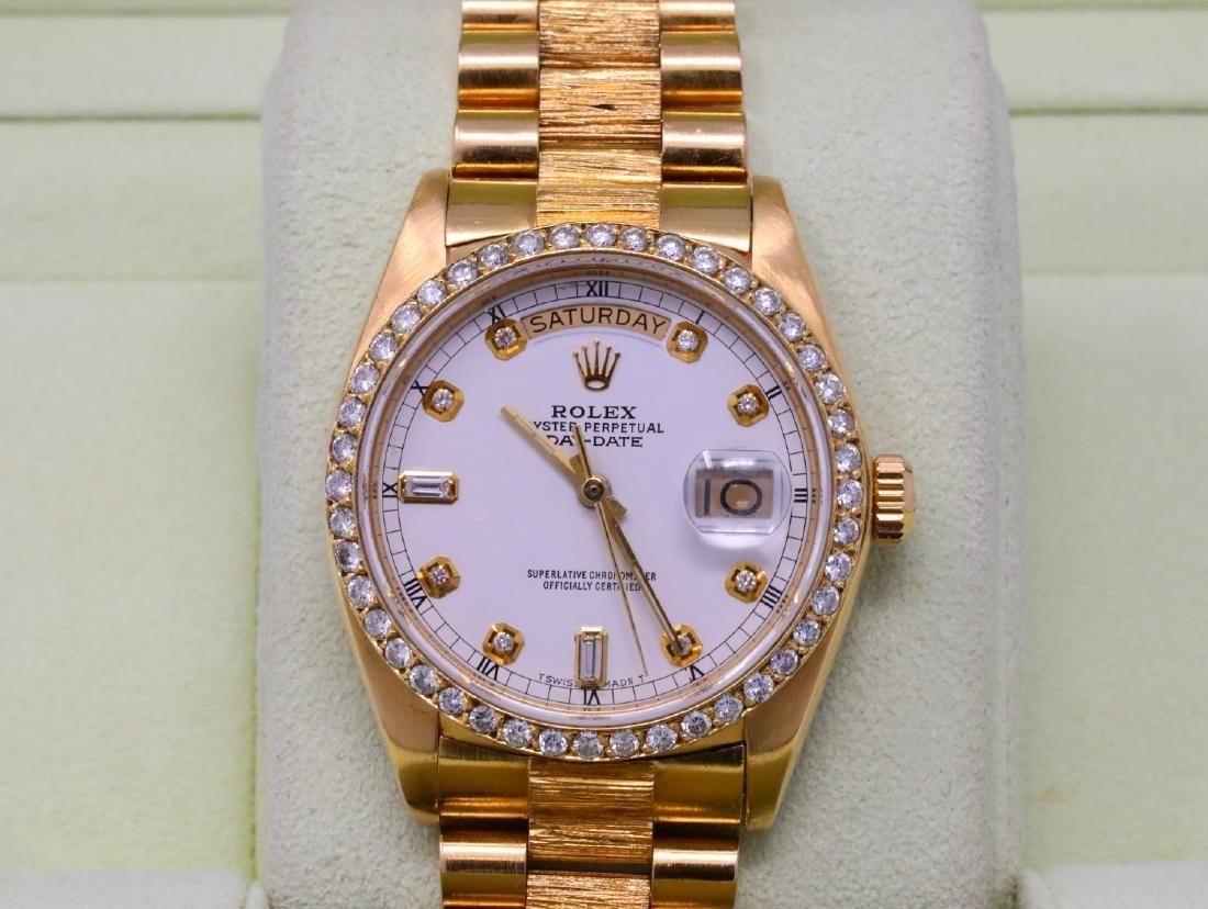 Rolex Presidential Day-Date Vintage 18K 36mm Watch - 2