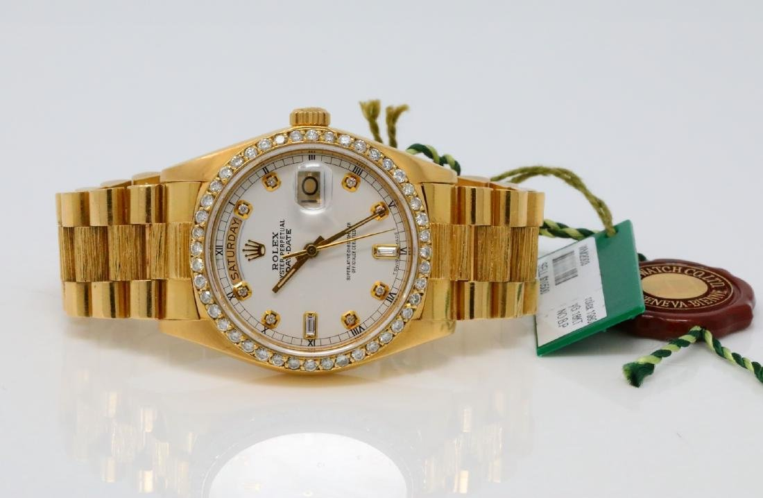 Rolex Presidential Day-Date Vintage 18K 36mm Watch - 3