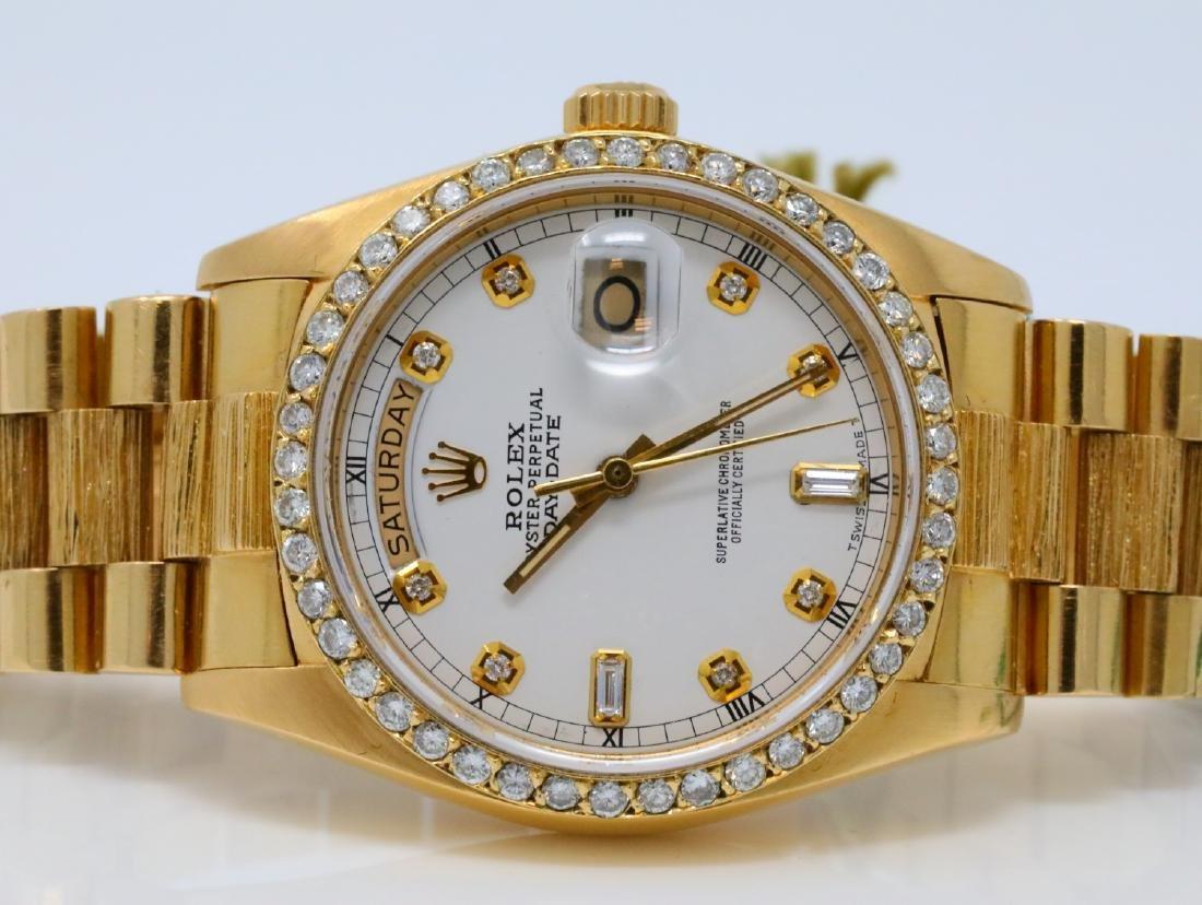 Rolex Presidential Day-Date Vintage 18K 36mm Watch - 4