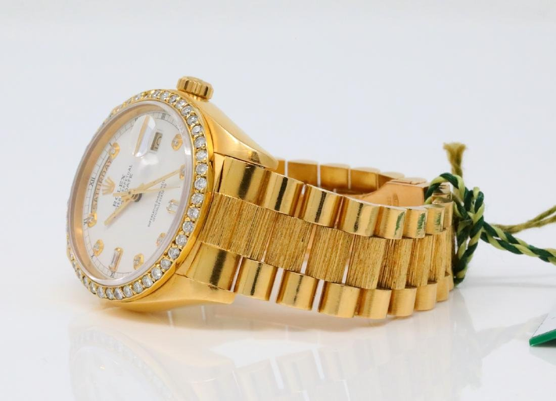 Rolex Presidential Day-Date Vintage 18K 36mm Watch - 5