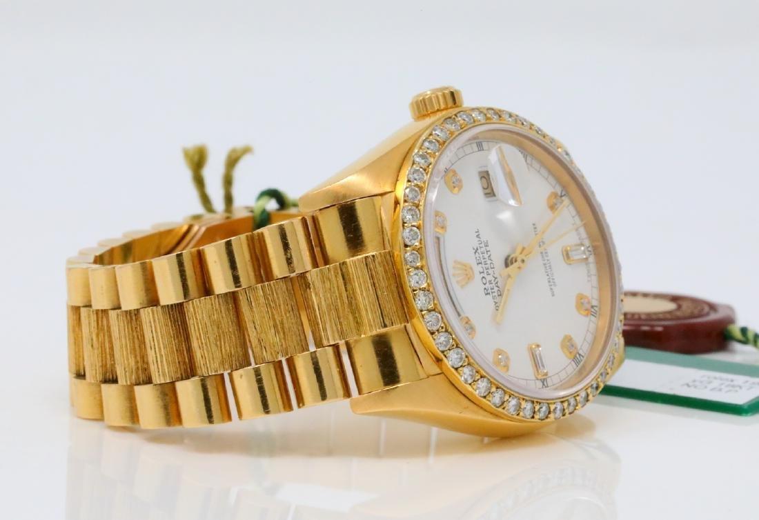 Rolex Presidential Day-Date Vintage 18K 36mm Watch - 6