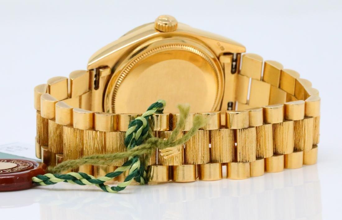 Rolex Presidential Day-Date Vintage 18K 36mm Watch - 7