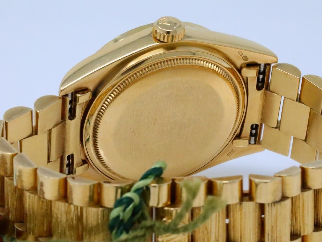 Rolex Presidential Day-Date Vintage 18K 36mm Watch - 8