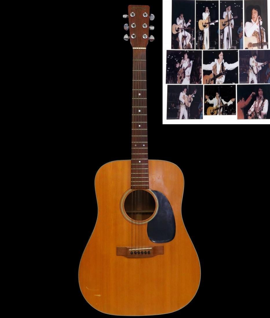 Elvis Presley's Martin D-18 Acoustic Guitar W/COA
