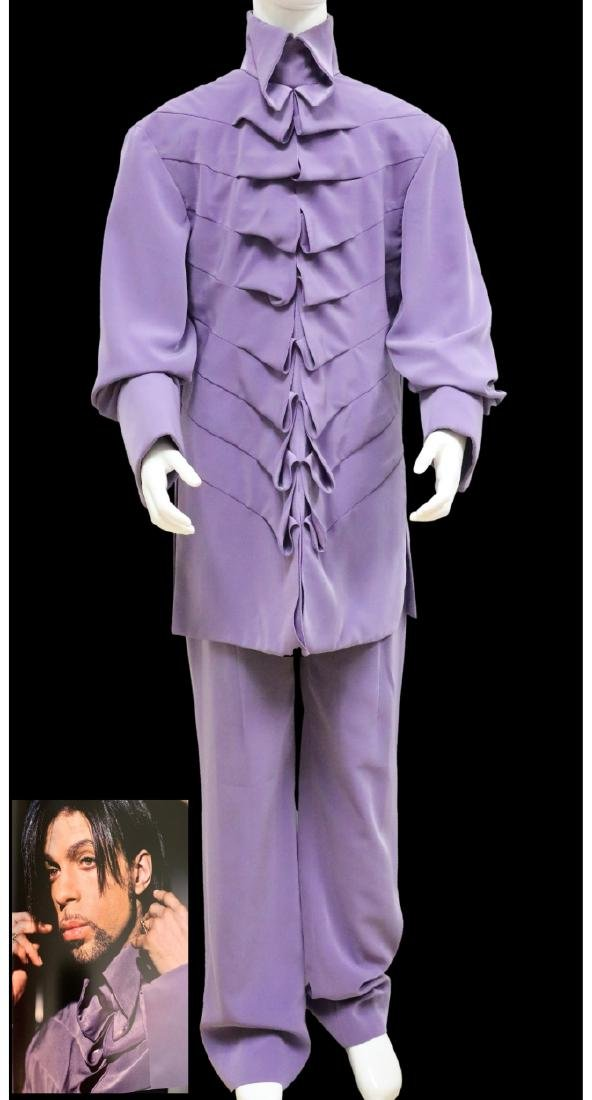 "Prince's Lilac Ensemble Worn in ""Picturing Prince"""