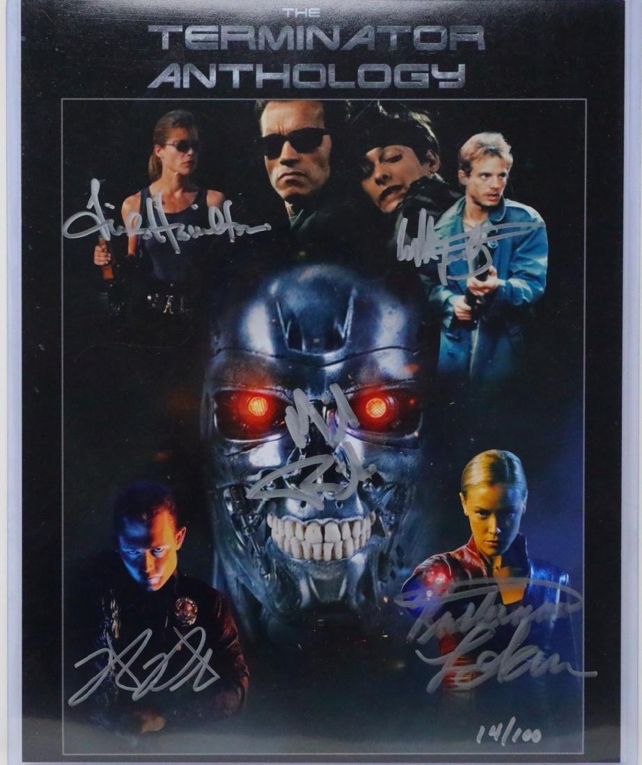 The Terminator Cast Signed Photograph W/COA