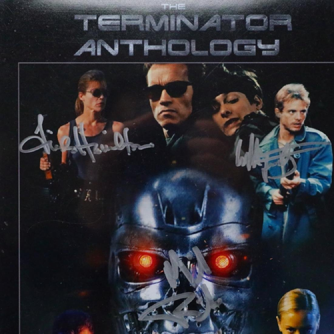 The Terminator Cast Signed Photograph W/COA - 2