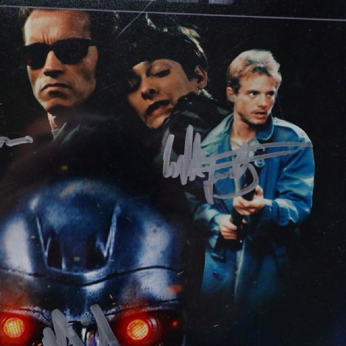The Terminator Cast Signed Photograph W/COA - 4