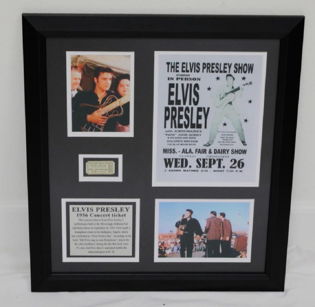 Elvis Presley 1956 Tupelo Elvis Presley Day Concert