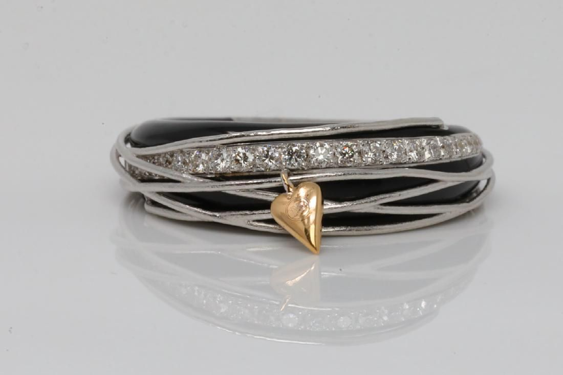 La Nouvelle Bague 0.30ctw Diamond, Enamel 18K Ring