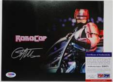 """Peter Weller """"RoboCop"""" Signed Photo W/PSA DNA"""