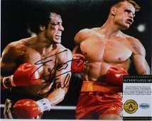 "Sylvester Stallone ""Rocky Balboa"" Signed Photo"