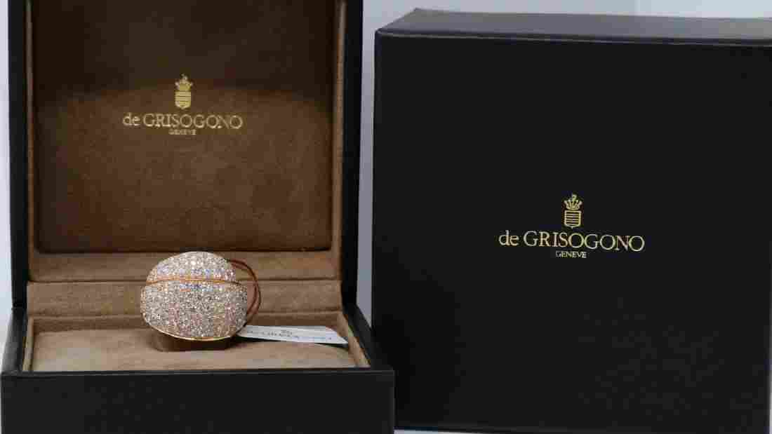 de Grisogono Tubetto 7.27ctw Diamond & 18K Ring