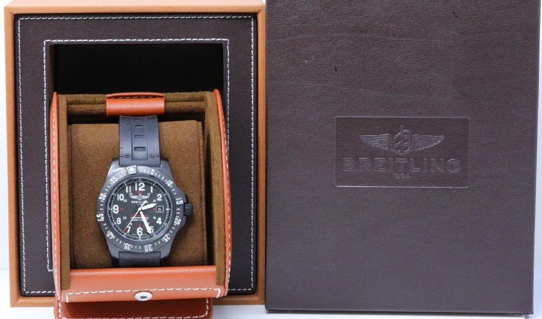 Breitling Colt Skyracer Volcano Watch in Box