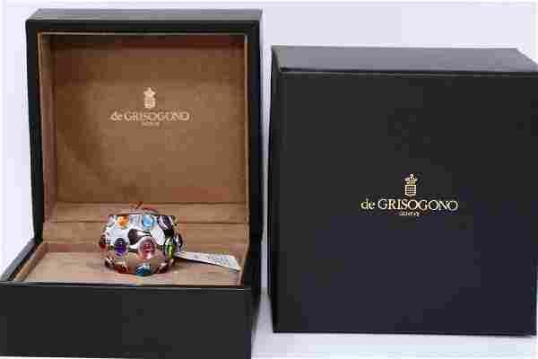 De Grisogono Melagrama 14.75ctw Multi-Gemstone Ring