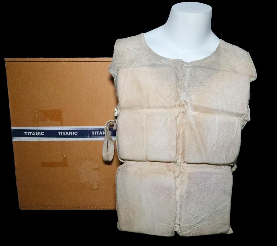 Titanic (1997) Prop Life Vest W/(2) COAs